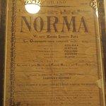 affiche première de Norma