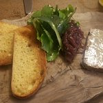 Pate with Caramelised red onion chutney So Yummy