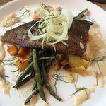 Trout at Lunch - so yummy!