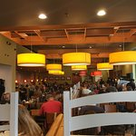 The dining hall at Denny's in Las Vegas.