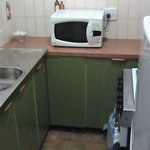 Smallest kitchen we have ever seen and used