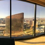 Panoramic view from our 59th floor room.
