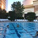 Wynn's Heated pool.