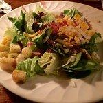 House salad with raspberry vinaigrette