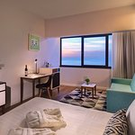 Guestroom sea view suite