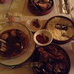 Couscous and Lamb Tajine