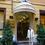 Hotel entrance...