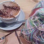 Knitting & Sipping