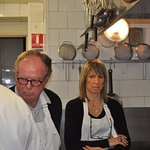 Dans la cuisine d'un chef Photo