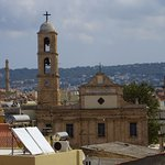 Chania Old Town view from the hill - Church of Three Martyrs