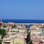 Chania view from the hill to Venetian harbour