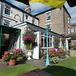 At The White Rose Hotel Beer Garden, Askrigg