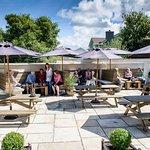 The Victoria Inn, relaxing garden area