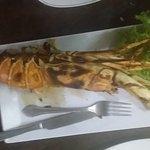 Tasty lobster on my plate