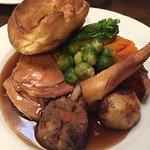 Sausage and mash kids meal and Sunday roast.
