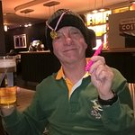 Springbok fan enjoys his birthday bash !