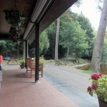 Pitlochry Boating Station - verandah