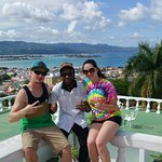 We took a landscape view of Montego Bay with our Breda Dane! Yah Mon