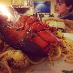 Spaghetti mit halbem Hummer für 17,50€-ein super Teller,wir waren sehr zufrieden. Perfekt gekoch