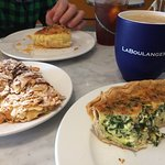 Incredible Quiche and coffee!