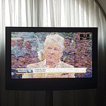 Uralt Fernseher, katastrophaler Empfang