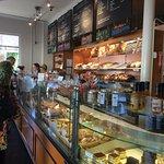 counter at La Boulangerie