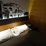 Dark bedroom inadequate lighting