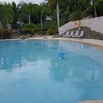 Huge open pools.