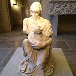 The Drunken Old Woman, a Roman copy of a Greek original--the details are extraordinary!