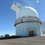 Um dos observatórios mais de perto