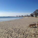 Compo Beach in the Winter