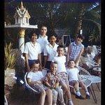 My family at the Atlanta near the pool - February 1967