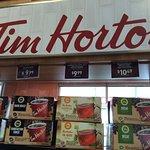 Tim Horton!! Taste of Canadian Coffee!