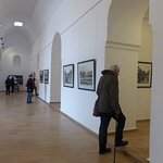 WEll set out photo exhibition at Bahia Palace of 1920's and 1930's Morocco