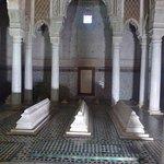 Saadian tombs and columns