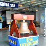 USS Lexingtpn Bell