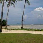Spiaggia con bassa marea
