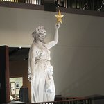 Replica of The Goddess of Liberty that sits atop The Texas State Capitol Building