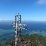 Top of the Le Morne Brabant
