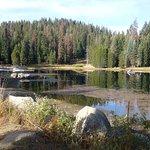 Lake next to the Lodge