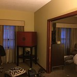 Our king size room - very comfortable and well equipped