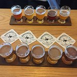 Flight of beers!