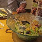 Unlimited salad bowl