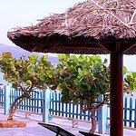 Cảnh quan Hòn Rơm 1 resort - Mũi Né - Phan Thiết