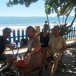 Du khách tại Hòn rơm 1 resort - Mũi Né - Phan Thiết - Việt Nam