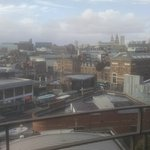View over Liverpool from our room