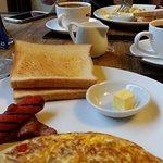 A nice free breakfast.