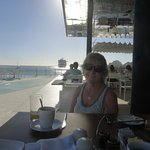 Full Breakfast Poolside