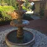 Fountain in front courtyard