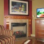 Fire place/TV Front Room, Vino Bello Resort, Napa, CA